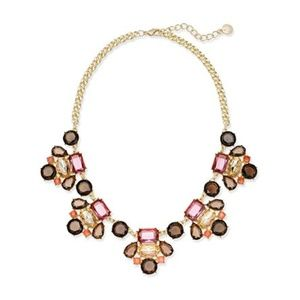Charter Club Gold-Tone Multi-Stone Statement Neck